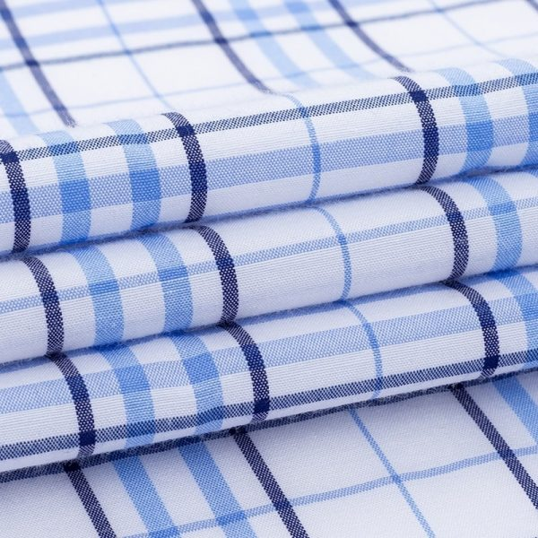 Summer Short Sleeves Plaid Shirts