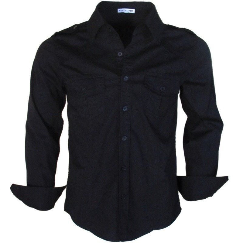 The Black Shirt Button Up - Not Just For Women Anymore