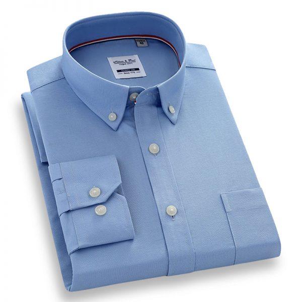 100% Cotton Oxford Casual Shirt6