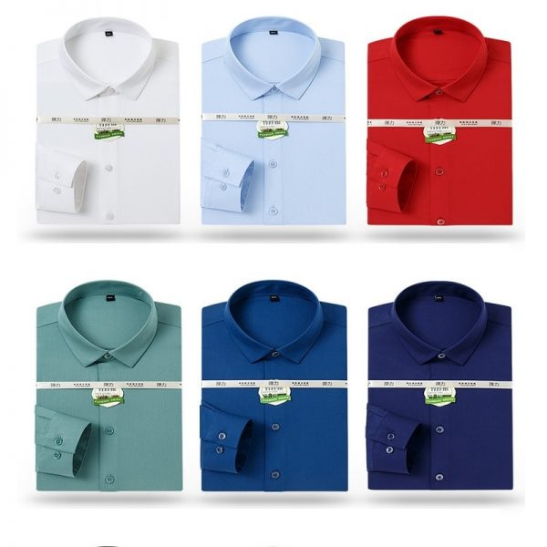Bamboo Fiber Formal Dress Shirt6
