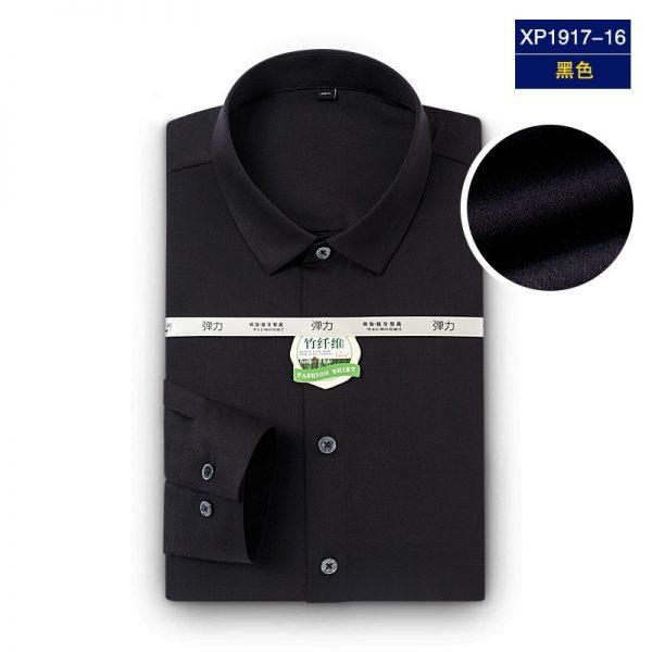 Bamboo Fiber Regular Dress Shirts6