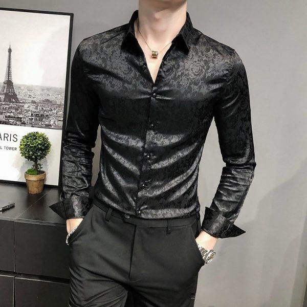 British Style Business Gentlemen Shirt