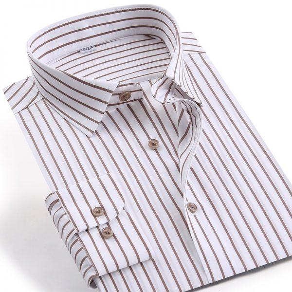 Business Classic Long Cotton Shirts