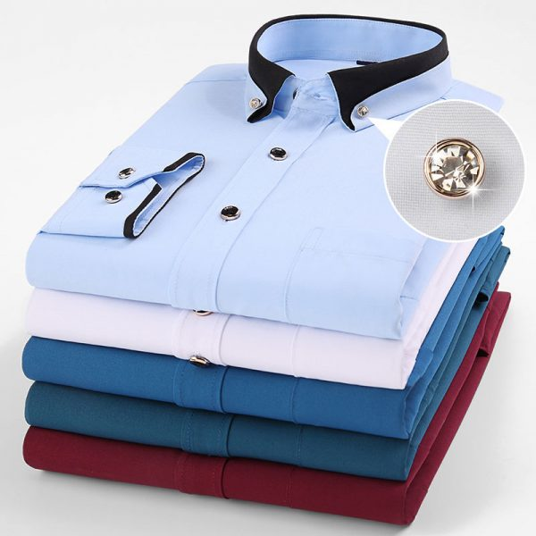 Business Fashion Social Casual Shirt6