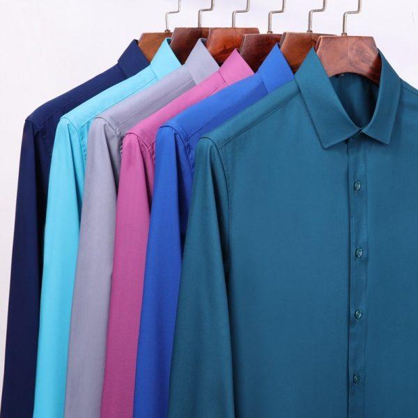Comfortable Bamboo Fiber Dress Shirts