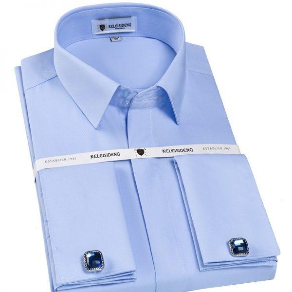 France Cufflinks Tuxedo Dress Shirts6