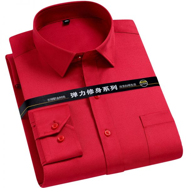 Men Basic Business Dress Shirt6