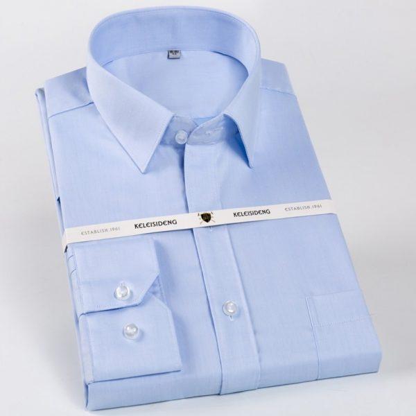 100% Long Sleeve Cotton Dress Shirts