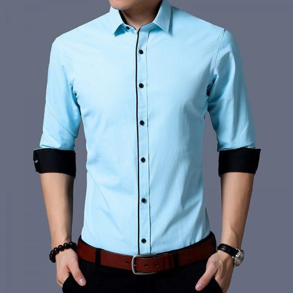 Fashion Business Formal Black Shirt