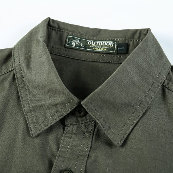 100% Cotton Casual Solid Shirts6