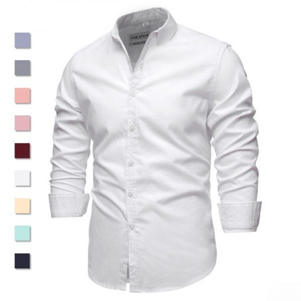 100% Cotton Men Oxford Shirt