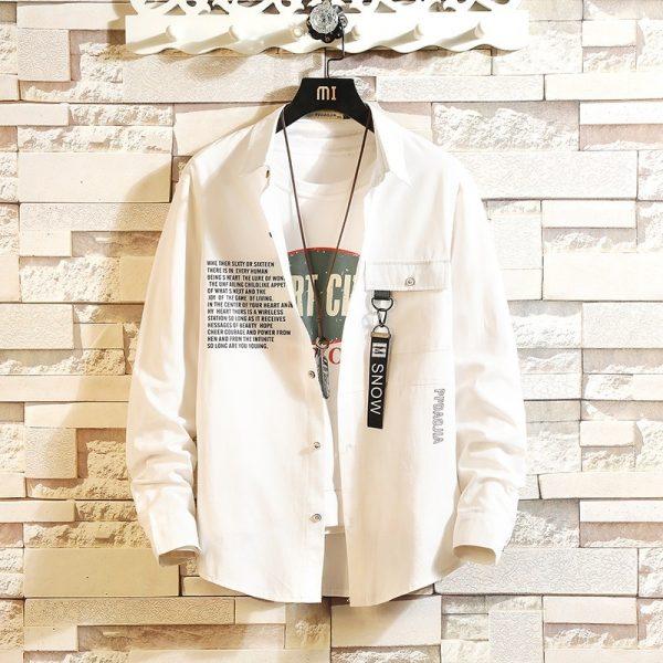 Casual Hip Hop Streetwear Shirts6