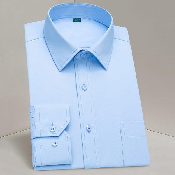 Classic Long Sleeve Dress Shirts6