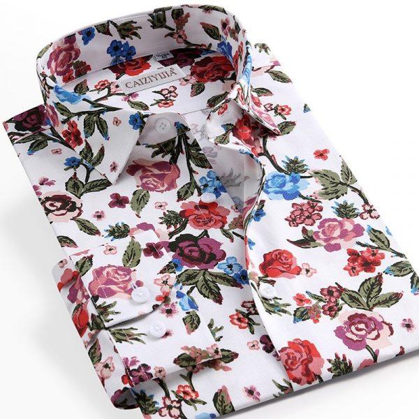 Floral Printed Hawaiian Shirts6