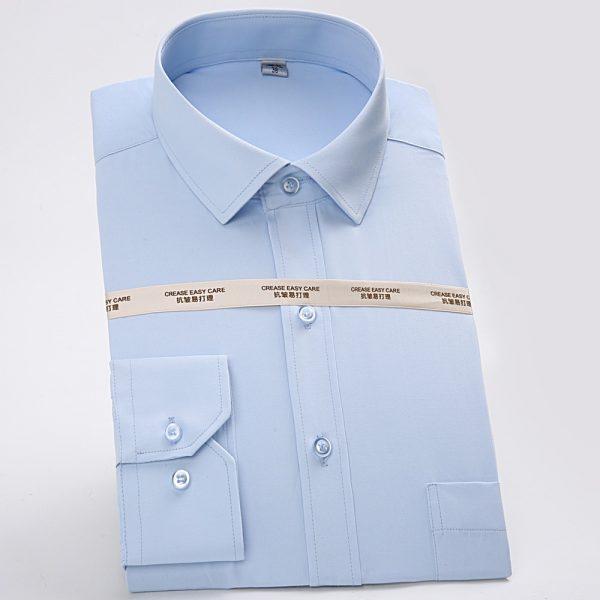 Men Classic Basic Dress Shirts6