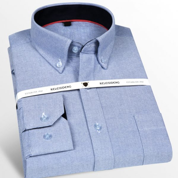 Oxford Long Sleeve Casual Shirt6