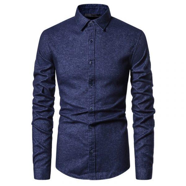 Spring Camicia Slim Fit Shirt6