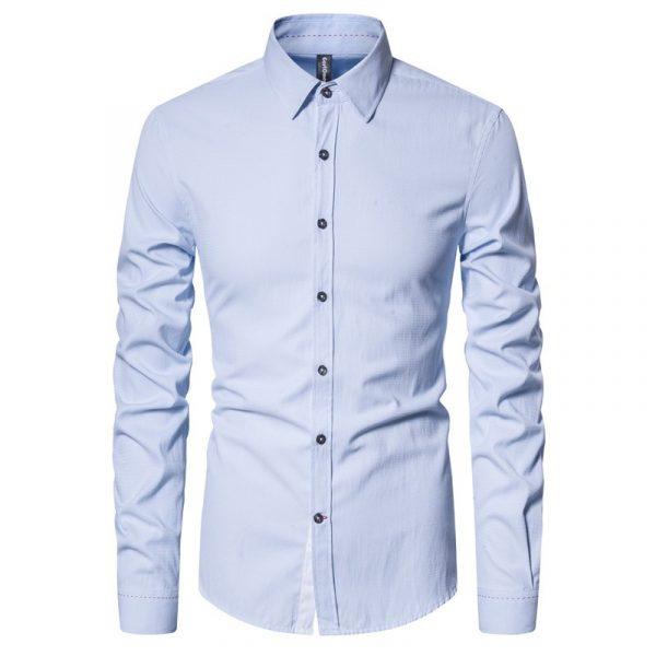 Spring Slim Fit Cotton Shirt6