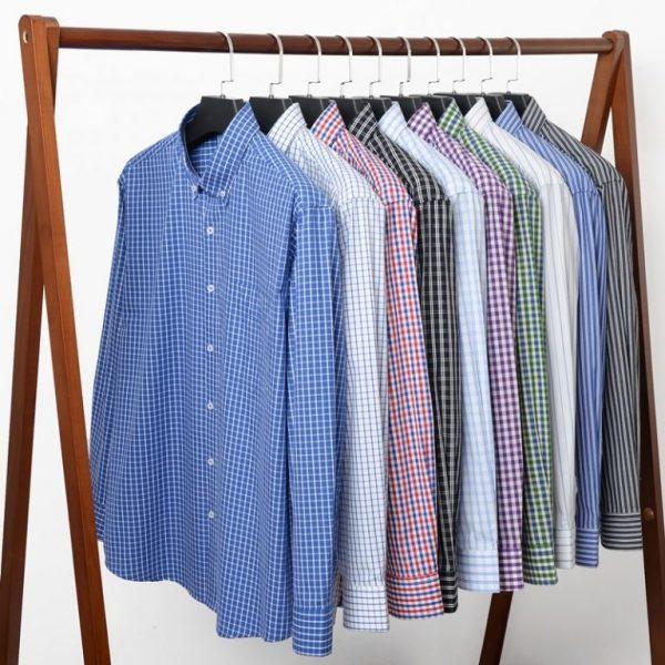 Casual Classic Plaid Shirts6