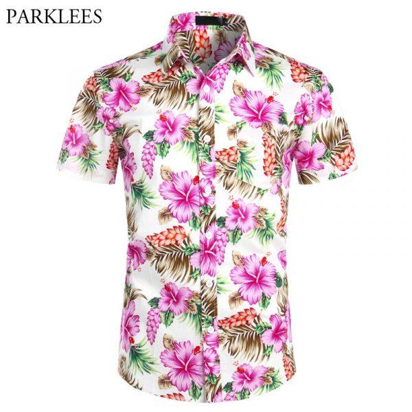 Hawaiian Shirts Floral Beach Shirt6